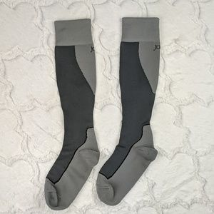 Jobst 20-30mgHG Gray Compression Socks Size Medium